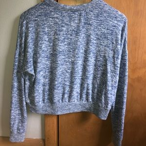 Cropped Crew neck sweater, size XS
